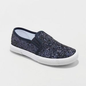 Girls Ethana Glitter Twin Gore Sneakers